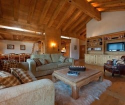 Chalet Apartment Dodo: Living area