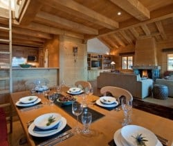 Chalet Apartment Dodo: Dining area