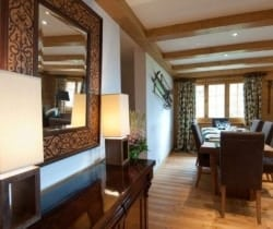 Chalet Etoile: Dining area