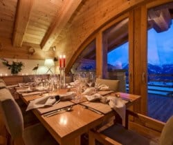Chalet Apartment Etre: Dining area
