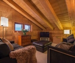 Chalet Apartment Etre: TV area