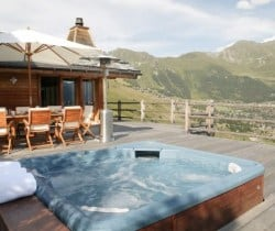 Chalet Holly: Outdoor Jacuzzi