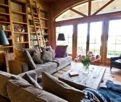 Chalet Irvin: Living room