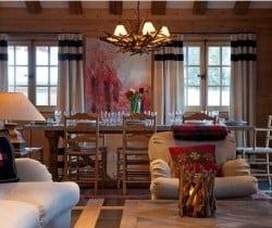 Chalet Jade: Dining area