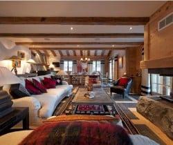 Chalet Jade: Living area