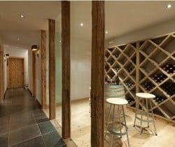 Chalet Jade: Wine cellar