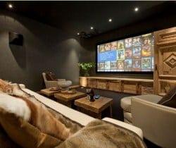Chalet Jade: Cinema room