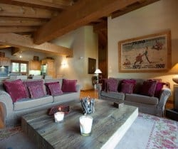 Chalet Jolly: Living area