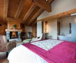 Chalet Jolly: Master Bedroom