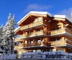 Chalet King: Outside view