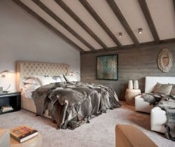 Chalet King: Bedroom