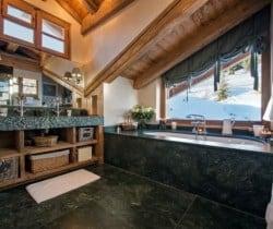 Chalet Nuha: Bathroom