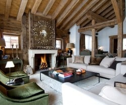 Chalet Peak: Living room