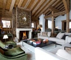 Chalet Peak: Living room