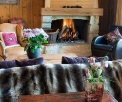 Chalet Silva: Fireplace