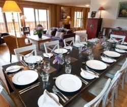 Chalet Silva: Dining area