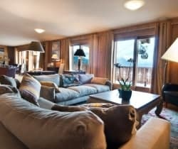 Chalet Silva: Living area