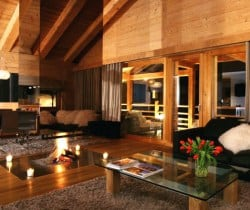 Chalet Tago: Living area