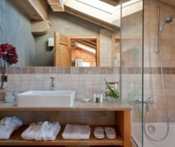 Chalet Tournalon: Bathroom