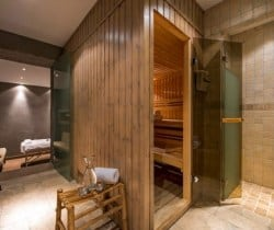 Chalet Tournalon: Spa area