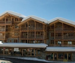 Chalet Vicky: Resort view