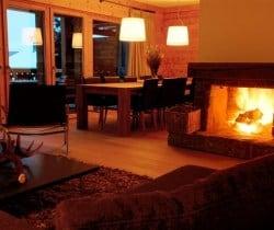 Chalet Vicky: Fireplace