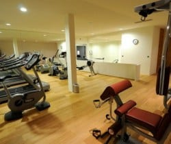 Chalet Virginia: Fitness room
