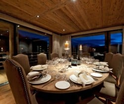 Chalet Volante: Dining room