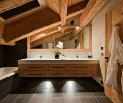 Chalet Volante: Bathroom