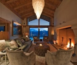 Chalet Volante: Living room