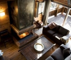Chalet Sattva: Living room