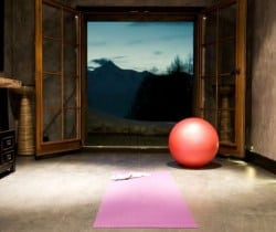 Chalet Sattva: Meditation room