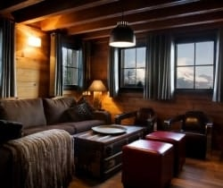 Chalet Sattva: Sitting room