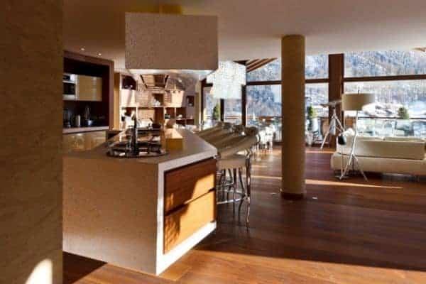 Chalet Aradia: Kitchen