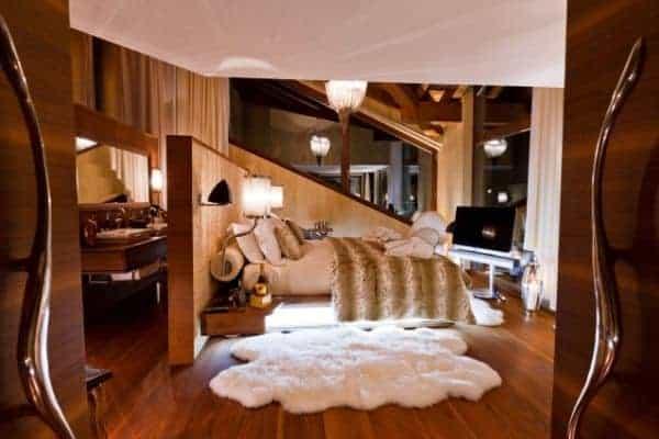 Chalet Aradia: Master bedroom