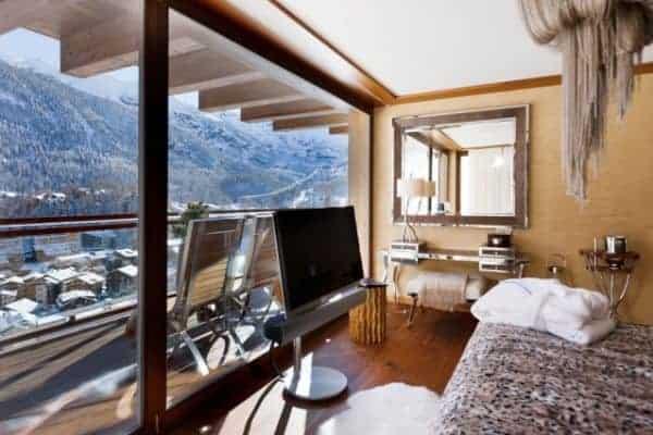 Chalet Aradia: Bedroom