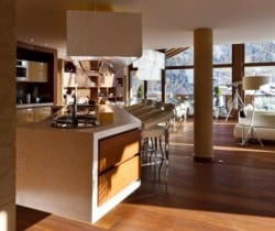 Chalet Aradia: Kitchen