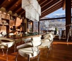 Chalet Aradia: Dining area