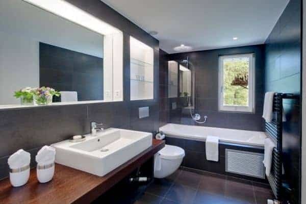 Chalet Apartment Miki: Master bathroom