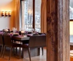 Chalet Shamballa: Dining room