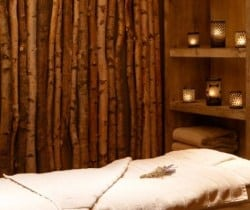 Chalet Shamballa: Massage room