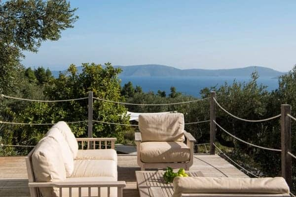Villa Peristera-Outdoor chill out area