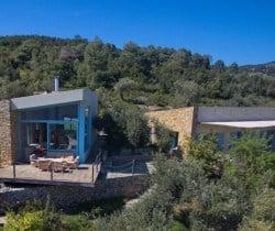 Villa Peristera-Exterior views