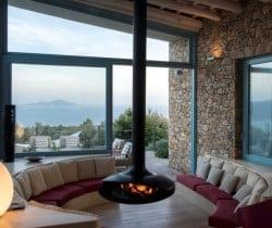 Villa Peristera-Living area
