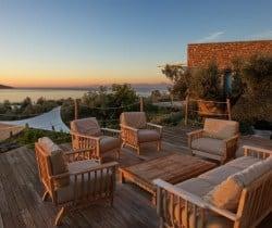 Villa Peristera-Sunset views