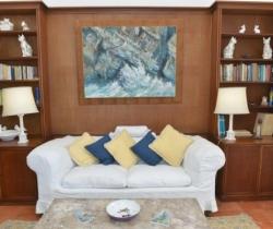 Villa Castiglione - Library