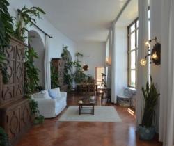Villa Castiglione - Living and dining area