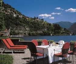 Villa Cima: Outdoor chill out area