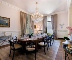 Villa Griante: Dining room