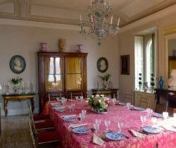 Villa Imperatore: Dining room
